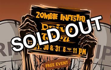 Halloween event sold out